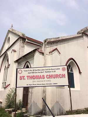 St Thomas Church Dehradun